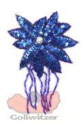 Blüte mit Perlenschnur