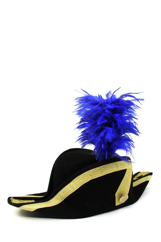 Kapauenstutz 10cm blau