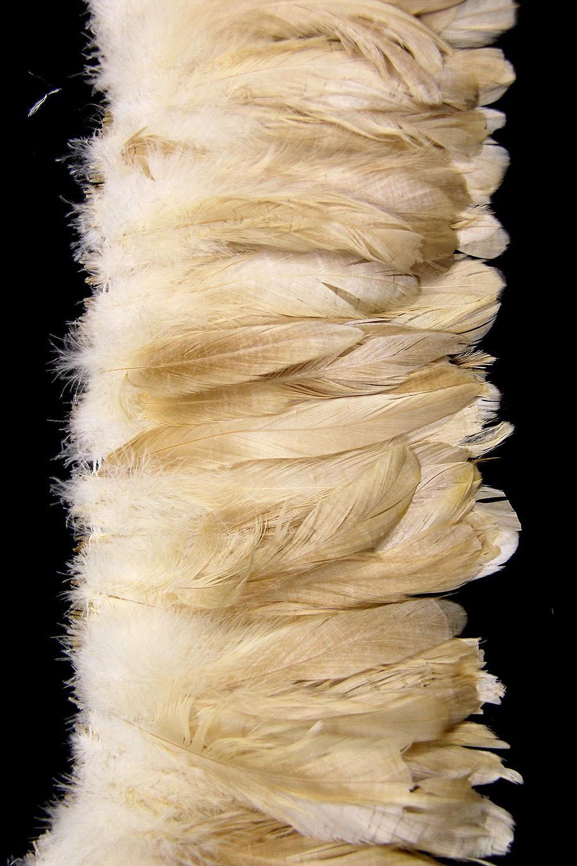 Hahnenschlappen 15-20cm bronze-angebleicht