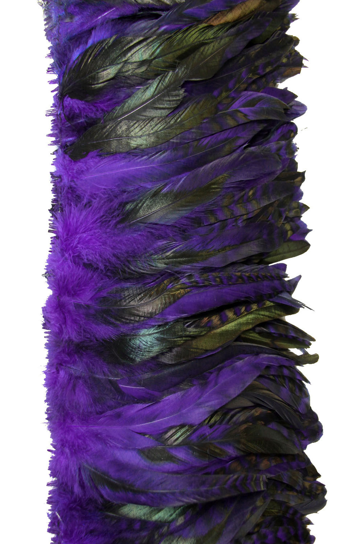 Hahnenschlappen Chinchilla 10-15cm lila