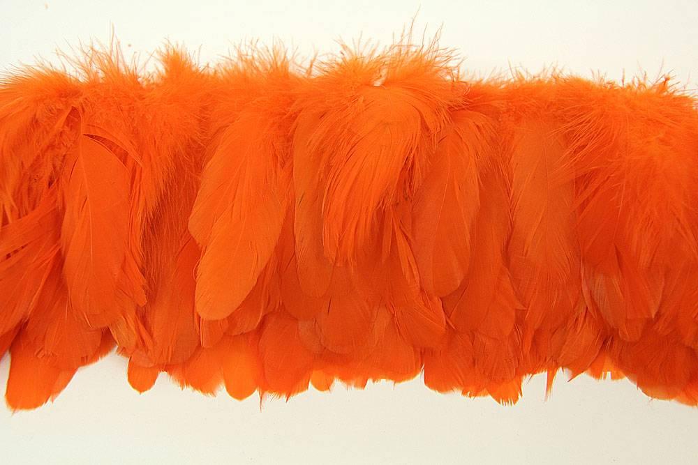 Hahnenschlappen 10-15cm orange
