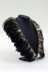 Cock Saddle Collar, Badger