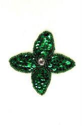 Blüte grün ca. 5x5cm