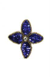 Blüte blau ca. 5x5cm