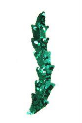 Schwinge groß grün rechts ca. 20x3cm