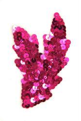 Schwinge klein pink links ca. 9x5cm