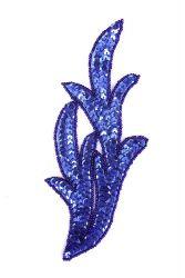 Perlenschwinge blau rechts ca. 19x8cm