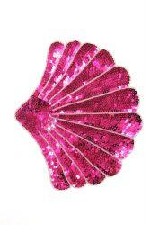 Fächer pink 23x19cm
