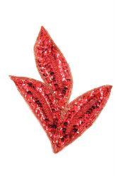 Blätter rot links ca. 17x14cm