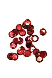Pailletten 12mm rot 40g PACK