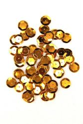 Pailletten 12mm rotgold 40g PACK