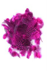 Guinea Fowl Plumage hothotpink, 10g PACK