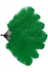 Straußenfächer Blondines Grün