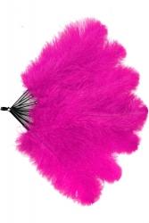 Straußenfächer Blondines Pink