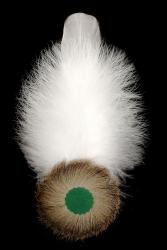 Adlerflaumimitat mit Gänsefeder 9106