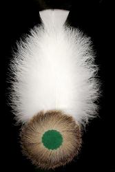 Adlerflaumimitat mit Putenspiegel 9206