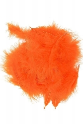Marabou Full Down loose orange, 10g PACK