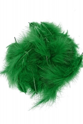 Marabou Full Down loose green, 10g PACK