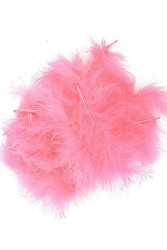Marabou Full Down loose hotpink, 10g PACK