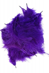 Marabou Full Down loose purple, 10g PACK