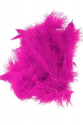 Marabou Full Down loose hothotpink, 10g PACK