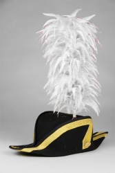 Coque Saddle Hackle 25+5cm white