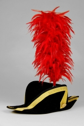 Coque Saddle Hackle 25+5cm red