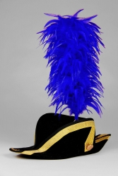 Coque Saddle Hackle 25+5cm blue