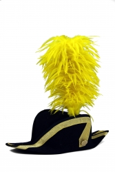 Coque Saddle Hackle 20+5cm sunny-yellow