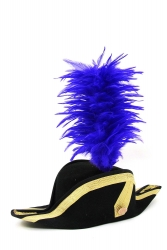 Coque Saddle Hackle 20+5cm blue