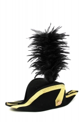 Coque Saddle Hackle 20+5cm black