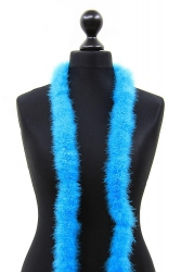 Marabou Boa 2ply turquoise, 2m Piece