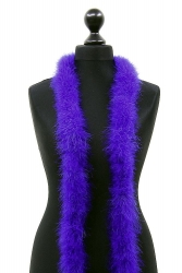 Marabou Boa 2ply purple, 10m Piece