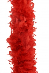 Feather Boa 800F red