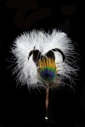 Hat Flower Marabou Duck Pheasant
