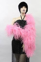 Ostrich Boa Dance Sport flamingo by meter