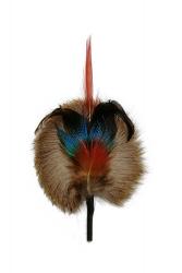 Hat Flower Pheasant Duck Peacock