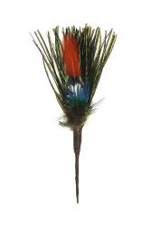 Hat Flower Peaock Herl Pheasant