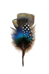 Hat Flower Turkey Guinea Fowl Peacock