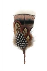 Hat Flower 58 Turkex Guinea Fowl Pheasant