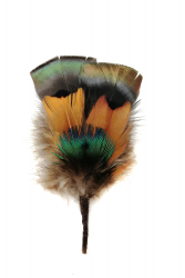Hat Flower 59 Turkey Peacock Pheasant