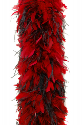 Chandelle Boa 1200F red + 2ply Ostrich black