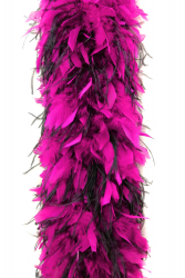 Chandelle Boa 1200F hothotpink + 2ply Ostrich black