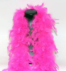 Feather Boa 200F hothotpink, 1.8m long
