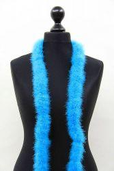 Marabou Boa 1ply turquoise, 2m Piece