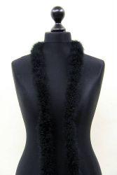 Marabuboa 1-fach schwarz, 2m Stück