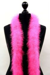 Marabou Boa 3ply hothotpink, 2m Piece