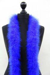 Marabou Boa 5ply blue, 2.5m Piece