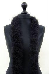 Marabuboa 5-fach schwarz, 2,5m Stück