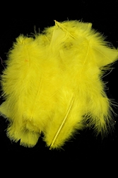 Marabou Full Down loose yellow, 10g PACK